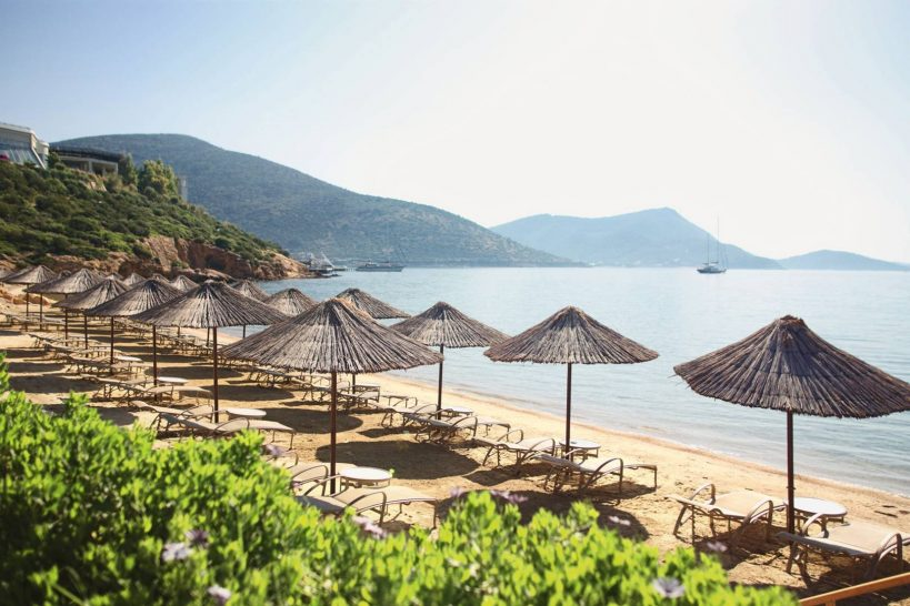Kempinski Hotel Barbaros Bay Bodrum barbaros bay beach