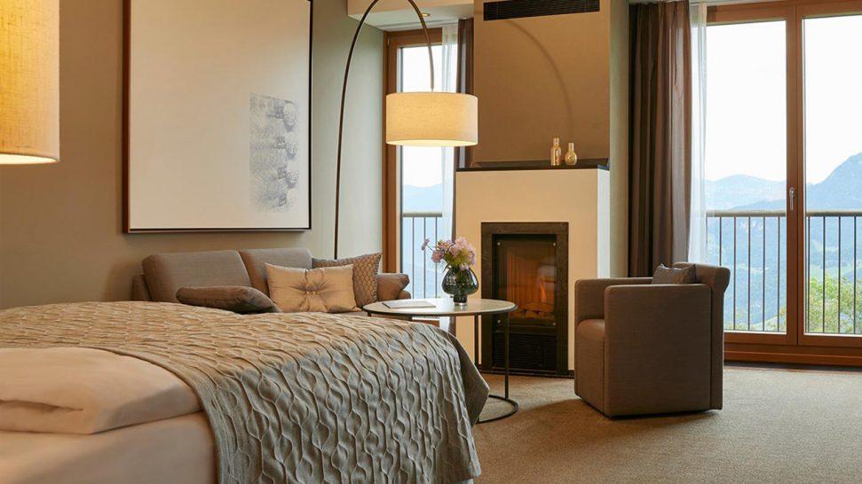 Kempinski Hotel Berchtesgaden Deluxe Mountain View Room