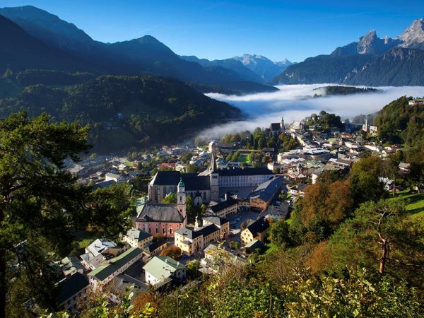 Kempinski Hotel Berchtesgaden Hotel View