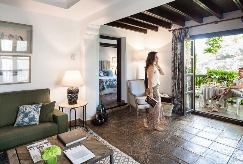 La Bobadilla, A Royal Hideaway Hotel Junior Suite Room with Balcony or Terrace