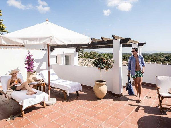 La Bobadilla, A Royal Hideaway Hotel Junior Suite with Garden and Panoramic Terrace