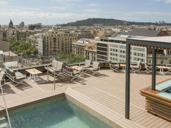 Majestic Hotel and Spa Barcelona GL Bar Rooftop 'la Dolce Vitae