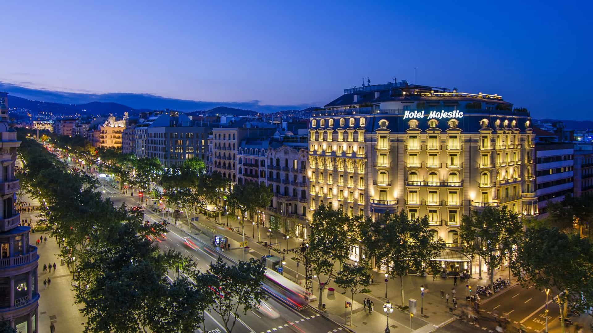 Majestic Hotel and Spa Barcelona GL Exterior
