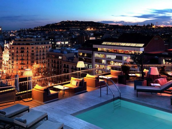 Majestic Hotel and Spa Barcelona GL Night View