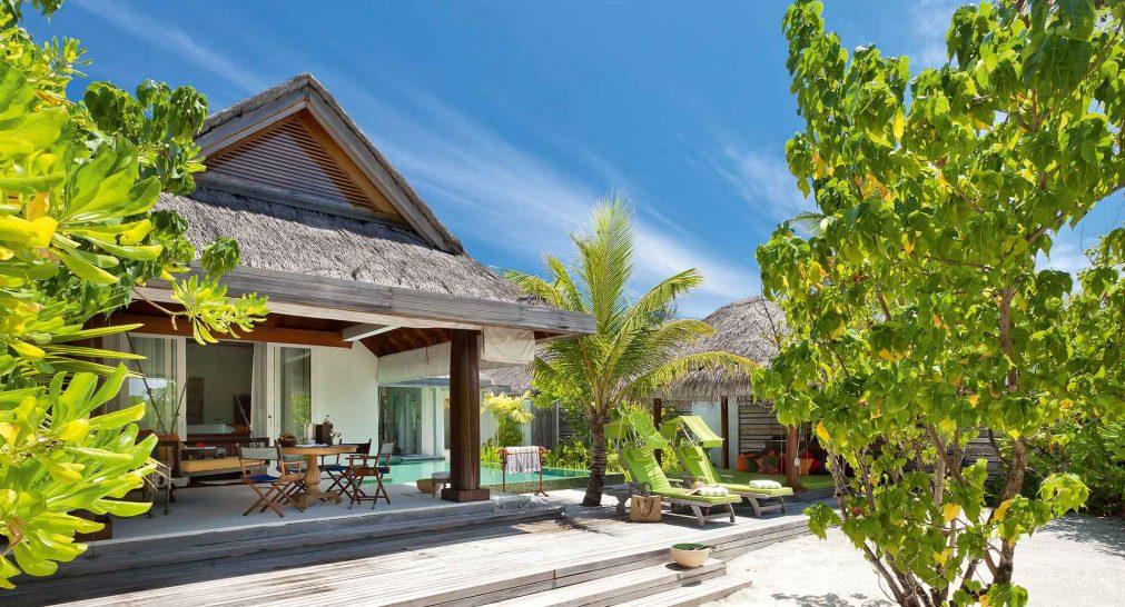 Naladhu Private Island Maldives Beach House with Pool