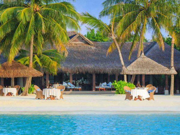 Naladhu Private Island Maldives Beach View