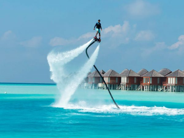 Naladhu Private Island Maldives Flyboarding