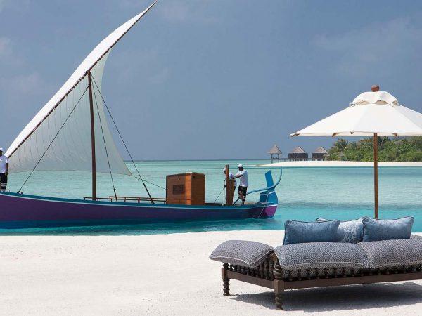 Naladhu Private Island Maldives Outside View