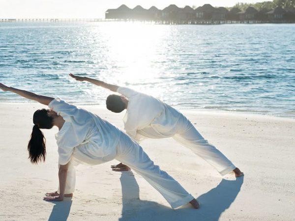Naladhu Private Island Maldives Yoga