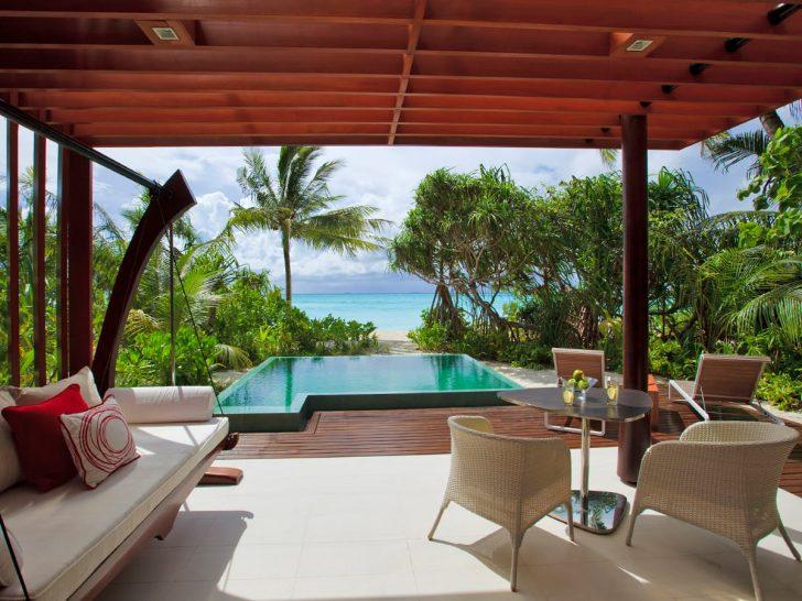 Niyama Private Islands Maldives Beach Pool Villa