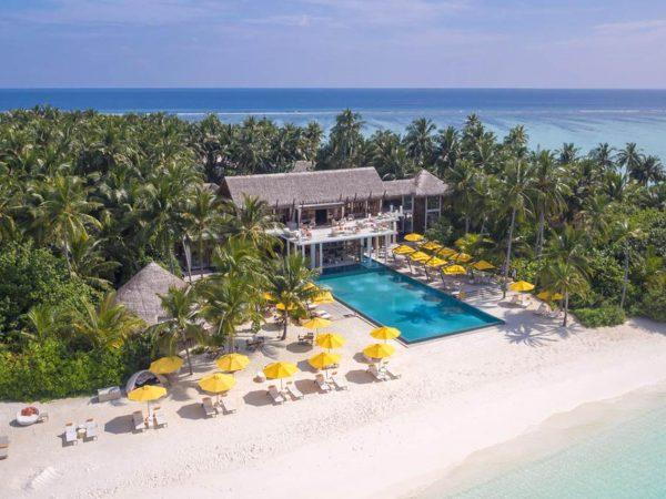 Niyama Private Islands Maldives Top View