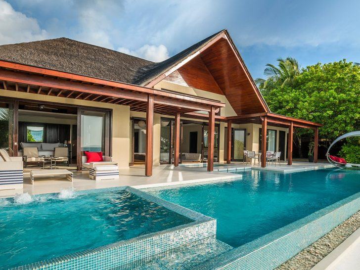 Niyama Private Islands Maldives Two Bedroom Beach Pool Pavilion