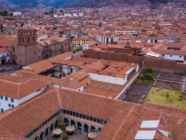 Palacio del Inka, a Luxury Collection Hotel Cusco Aerial View