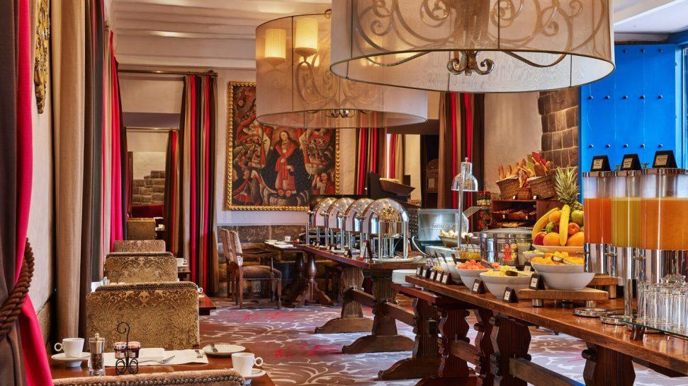 Palacio del Inka, a Luxury Collection Hotel Cusco Breakfast