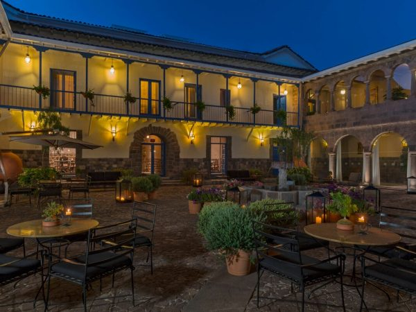 Palacio del Inka, a Luxury Collection Hotel Cusco Exterior Night View