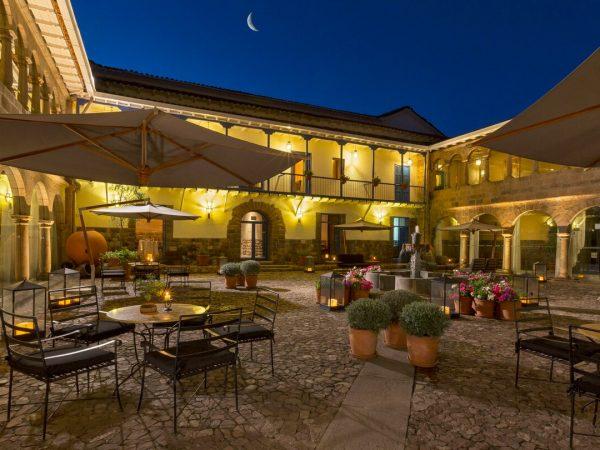 Palacio del Inka, a Luxury Collection Hotel Cusco Night View