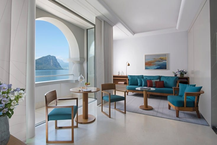 Park Hotel Vitznau Deluxe Junior Suite With Lake View