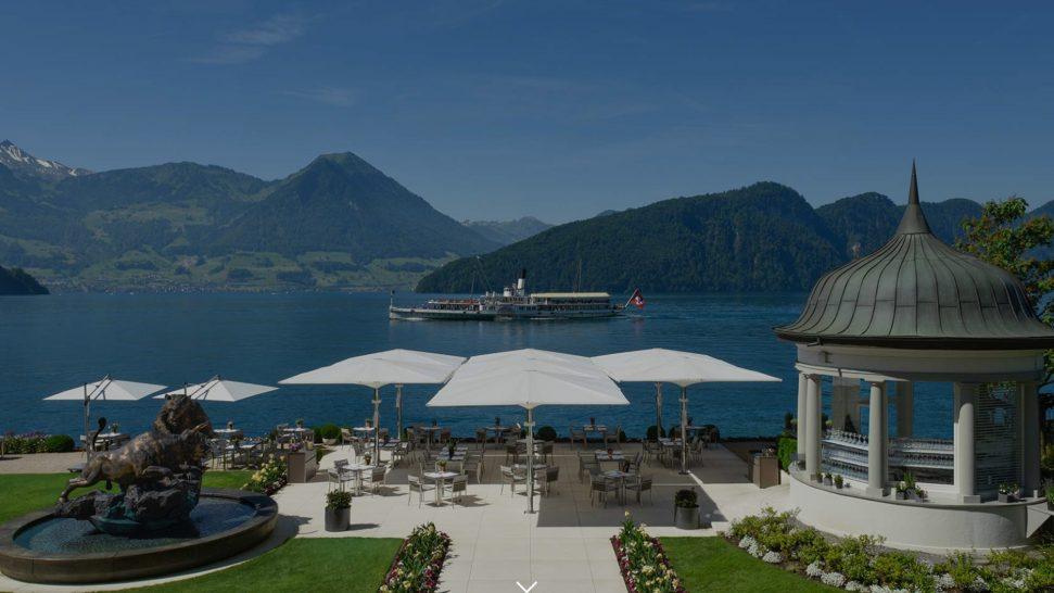 Park Hotel Vitznau Lake terrace