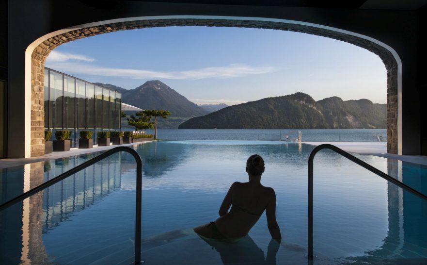 Park Hotel Vitznau Spa Pool
