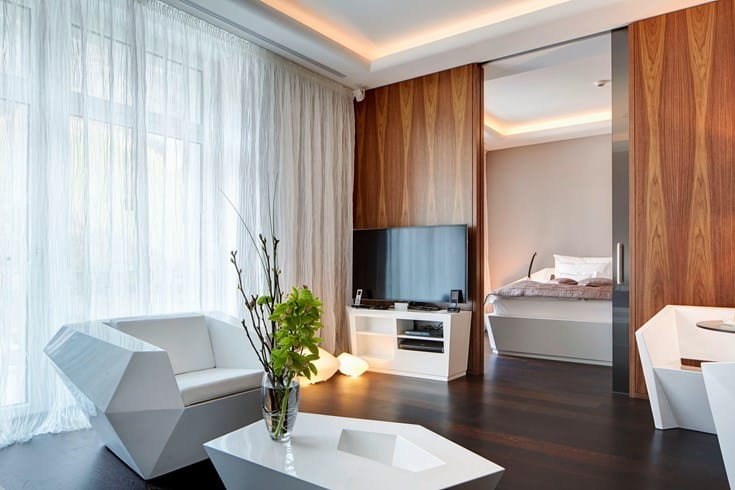 Park Hotel Vitznau Deluxe Suite With Mountain