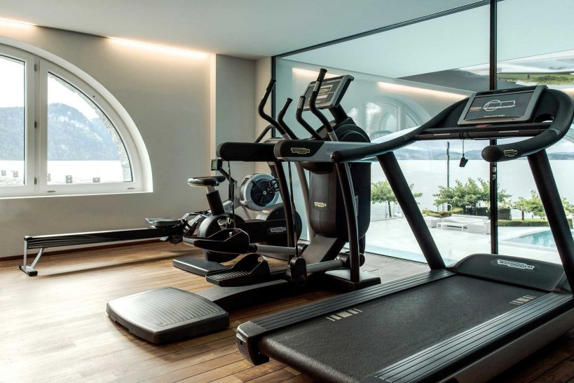 Park Hotel Vitznau gym
