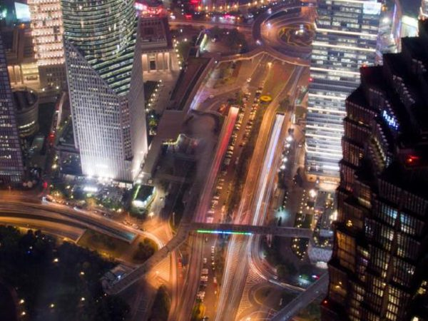Park Hyatt Shanghai Hotel Night View