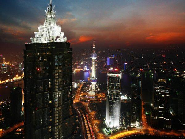 Park Hyatt Shanghai Night View