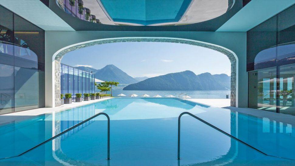 Park hotel vitznau pool