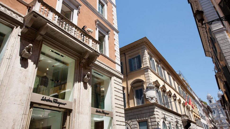 Portrait Roma Michelin Star Restaurants in Rome