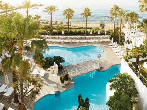 Puente Romano Beach Resort Hotel Top View