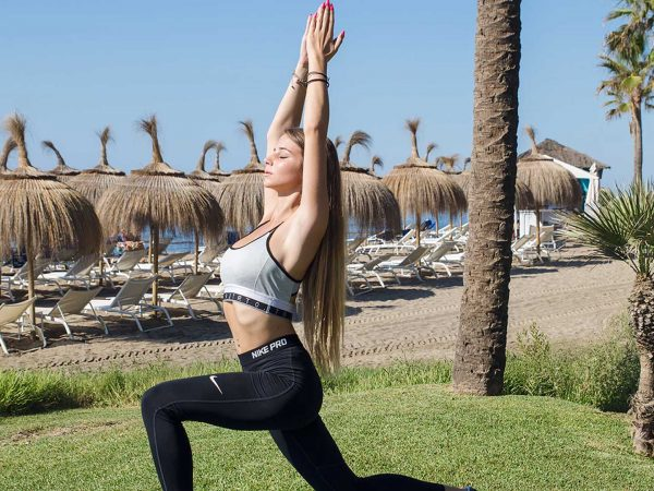 Puente Romano Beach Resort Kundalini Yoga on the Beach