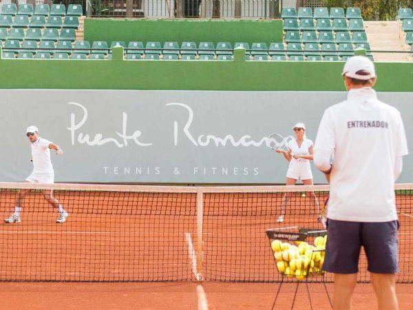 Puente Romano Beach Resort Tennis Lesson