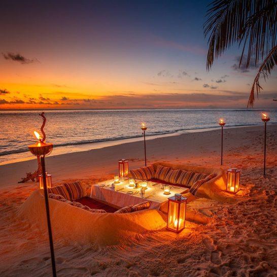 Raffles Maldives Meradhoo Beach Dining