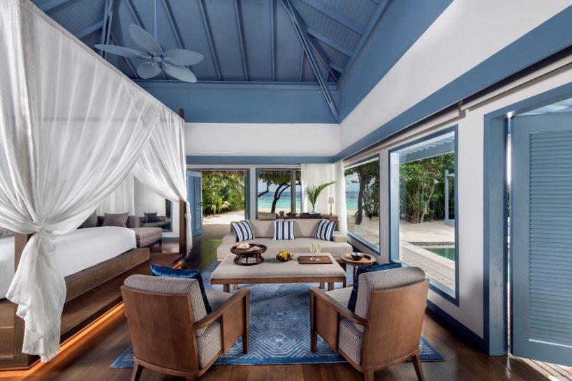 Raffles Maldives Meradhoo Beach Villa