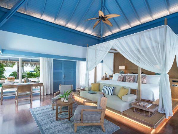 Raffles Maldives Meradhoo Deluxe Beach Villa