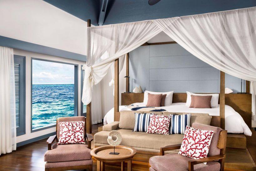Raffles Maldives Meradhoo Overwater Villa