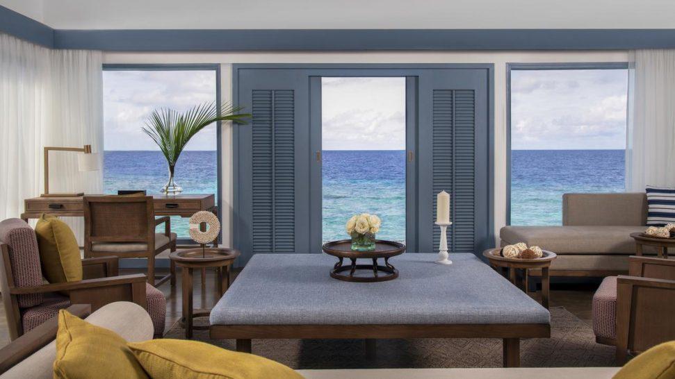 Raffles Maldives Meradhoo Sunset Overwater Villa