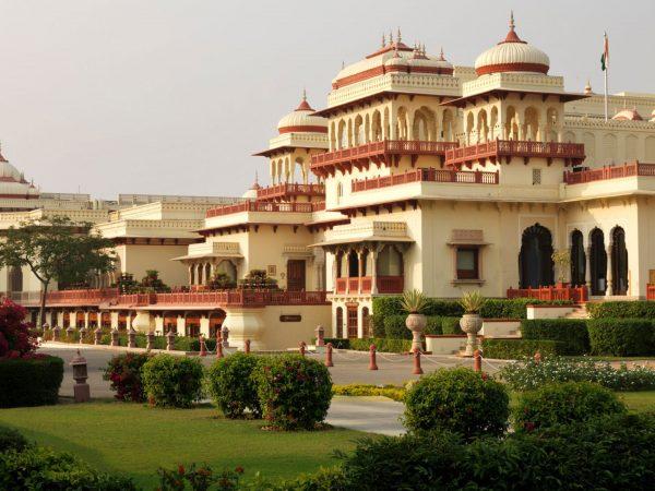 Rambagh Palace Jaipur Exterior