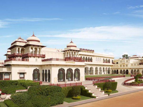 Rambagh Palace Jaipur Exterior View