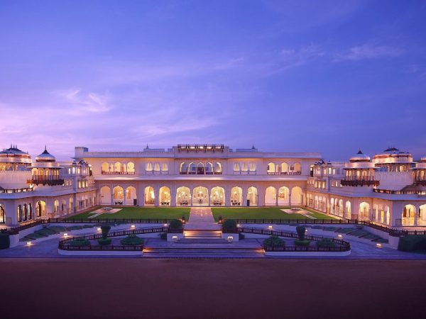 Rambagh Palace Jaipur Hotel Night View