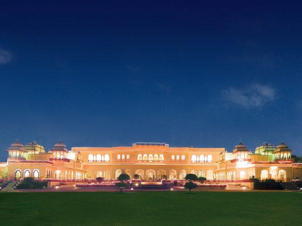 Rambagh Palace Jaipur Hotel View