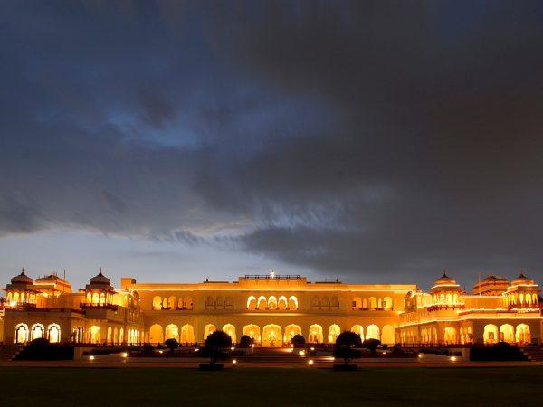 Rambagh Palace Jaipur Night View