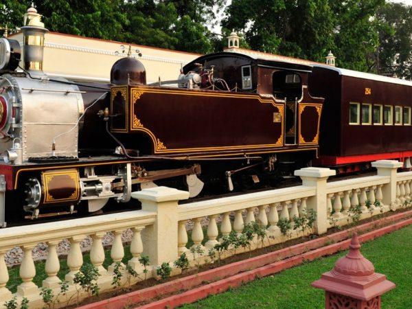 Rambagh Palace Jaipur Steam