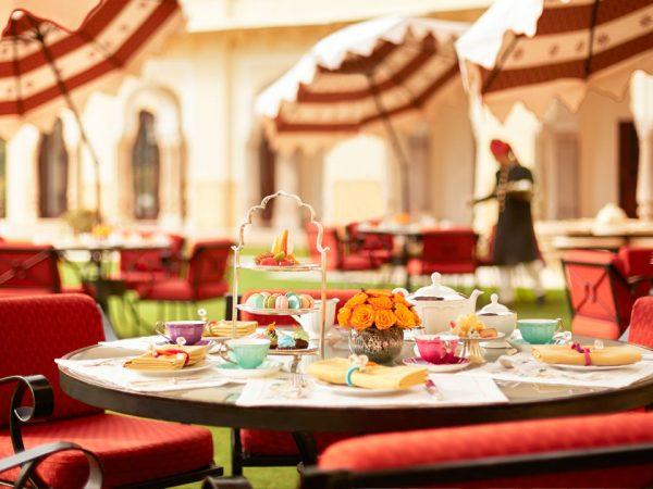 Rambagh Palace Jaipur Verandah Cafe