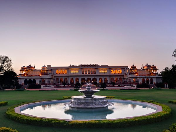 Rambagh Palace Jaipur View