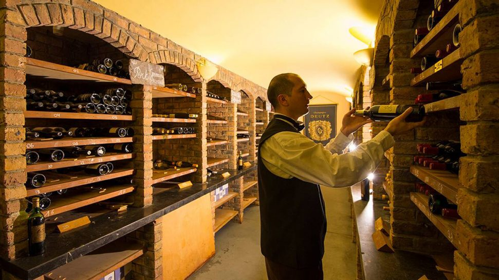 Sheen Falls Lodge Wine Cellar