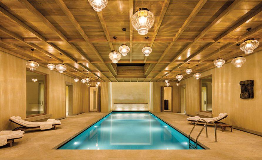 Spa pool at Abadia Retuerta LeDomaine