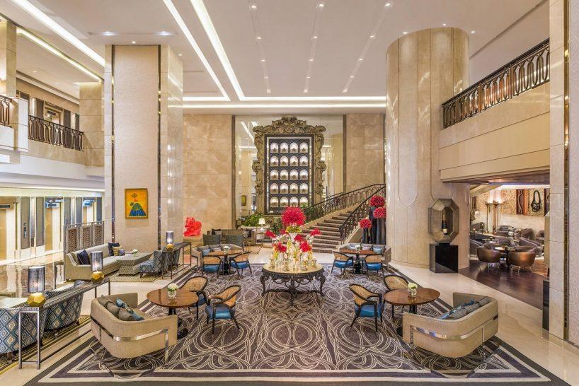 St Regis Mumbai lobby