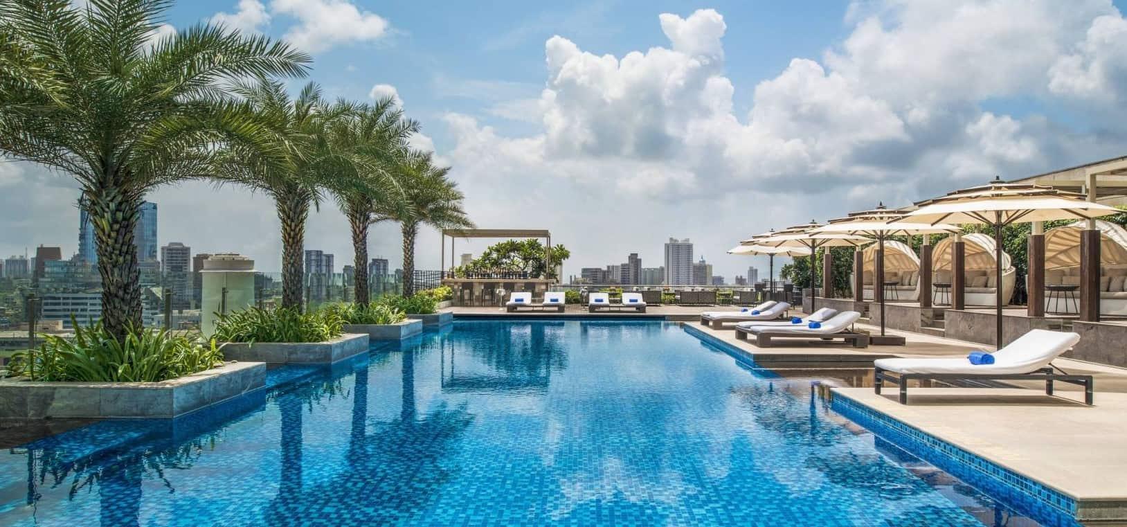 St Regis Mumbai pool
