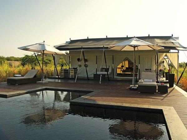 Sujan Jawai Leopard Camp Lobby Pool View